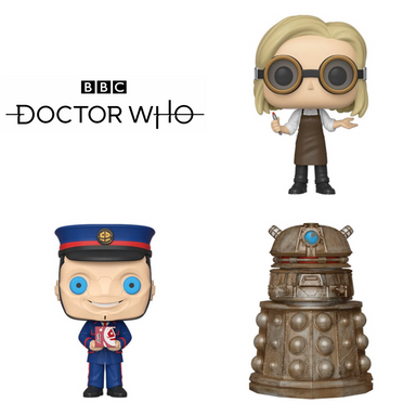 Doctor Who Bundle (3 Figures)