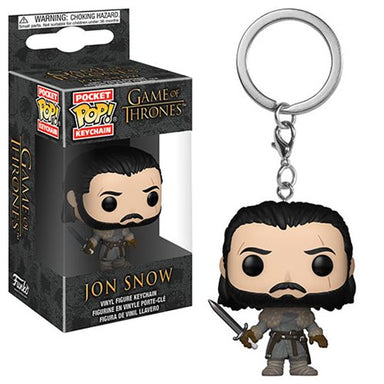 Game of Thrones Jon Snow Beyond the Wall Pocket Pop Keychain
