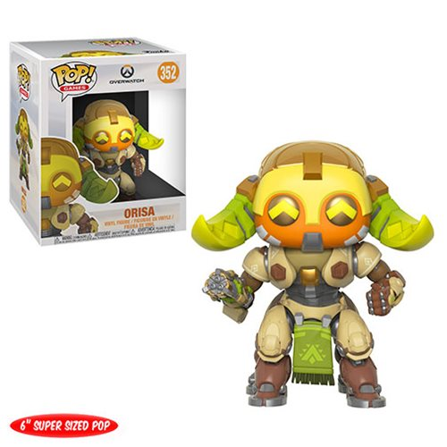 Overwatch Orisa 6-Inch Pop! Vinyl Figure