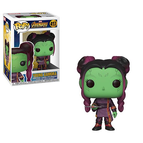 Avengers Infinity War Young Gamora with Dagger