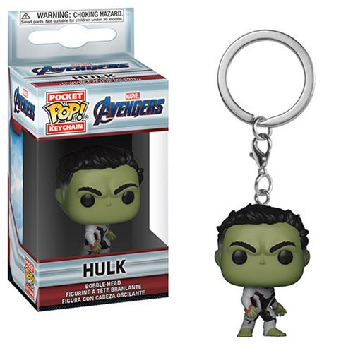 Marvel Avengers Endgame Hulk Pocket Pop Keychain