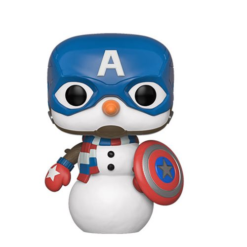 Marvel Holiday Captain America