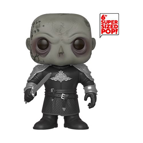 Game of Thrones The Mountain Unmasked 6-Inch (October Preorder)