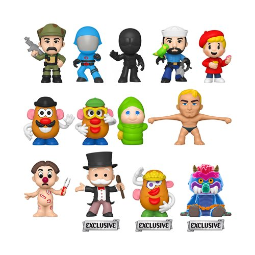 Hasbro Retro Specialty Series Mystery Minis [Case of 12] (October Preorder)