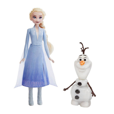 Frozen 2 Talk and Glow Olaf and Elsa Dolls
