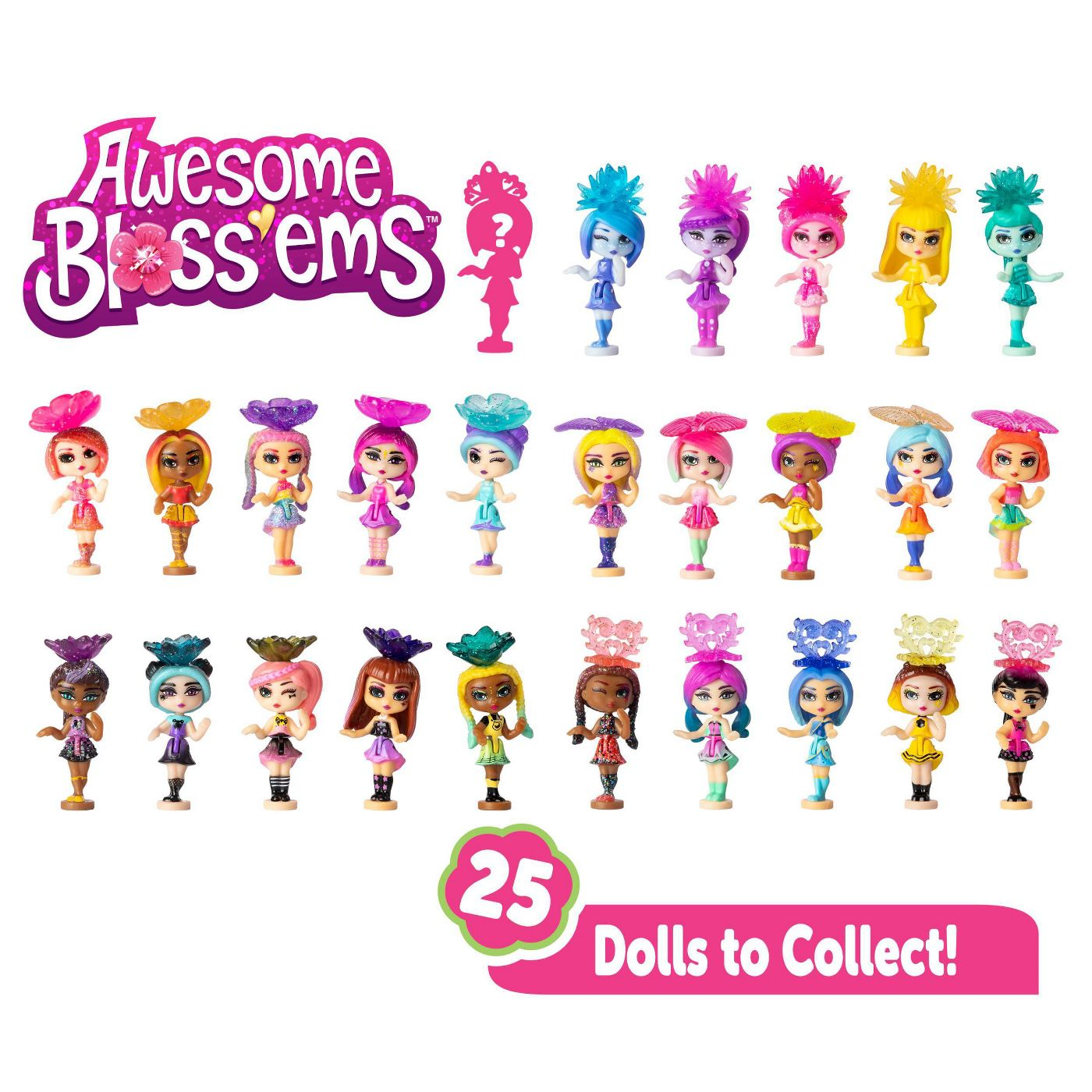 Awesome Bloss'ems Magical Growing Flower Doll Blind Pack