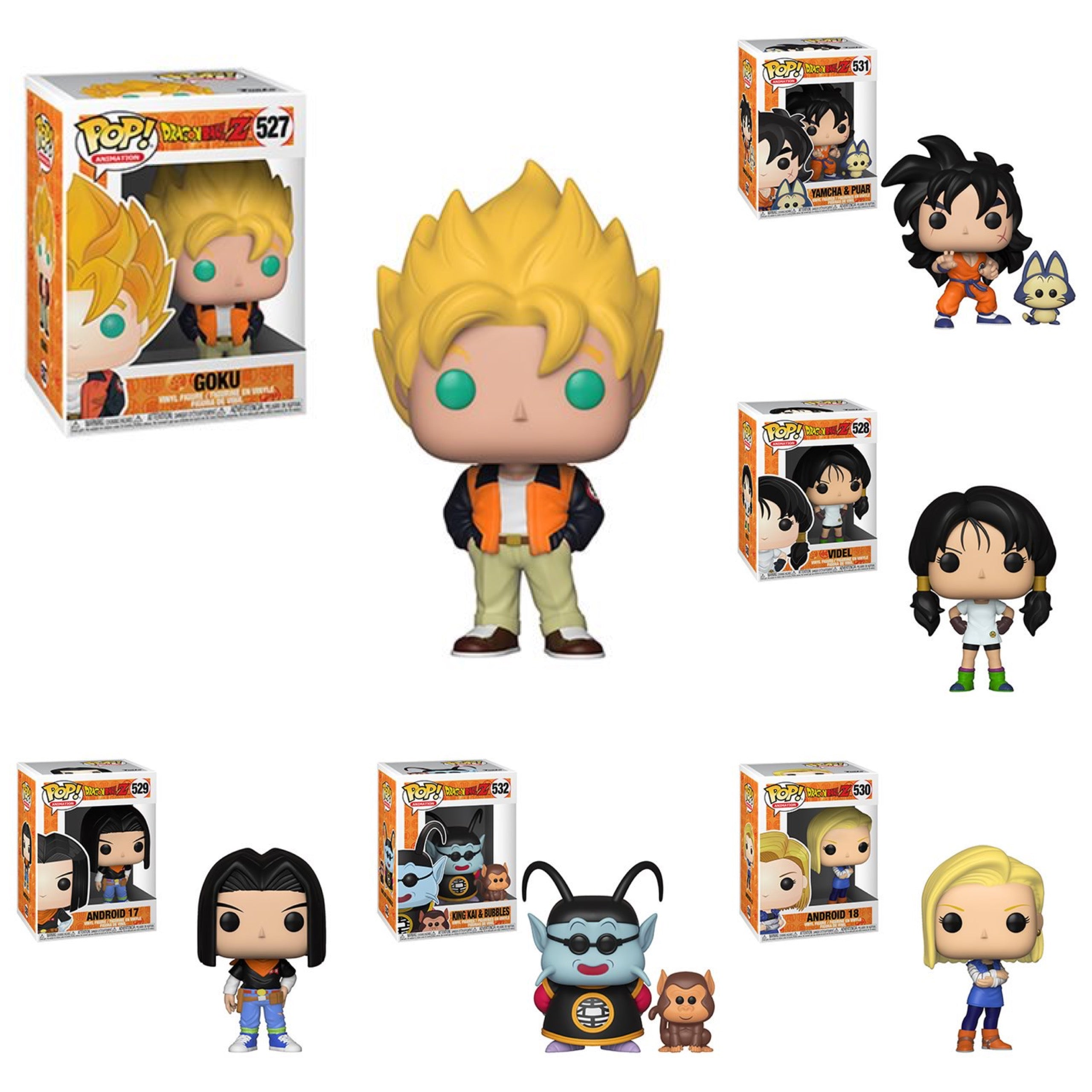 Dragon Ball Z Wave 5 Bundle (6 Figures)