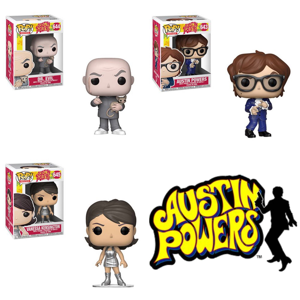 Austin Powers Bundle (3 Figures)