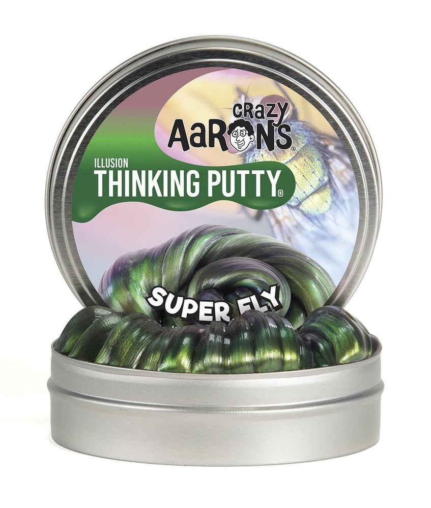Super Fly Illusions 4-inch Thinking Putty Tin