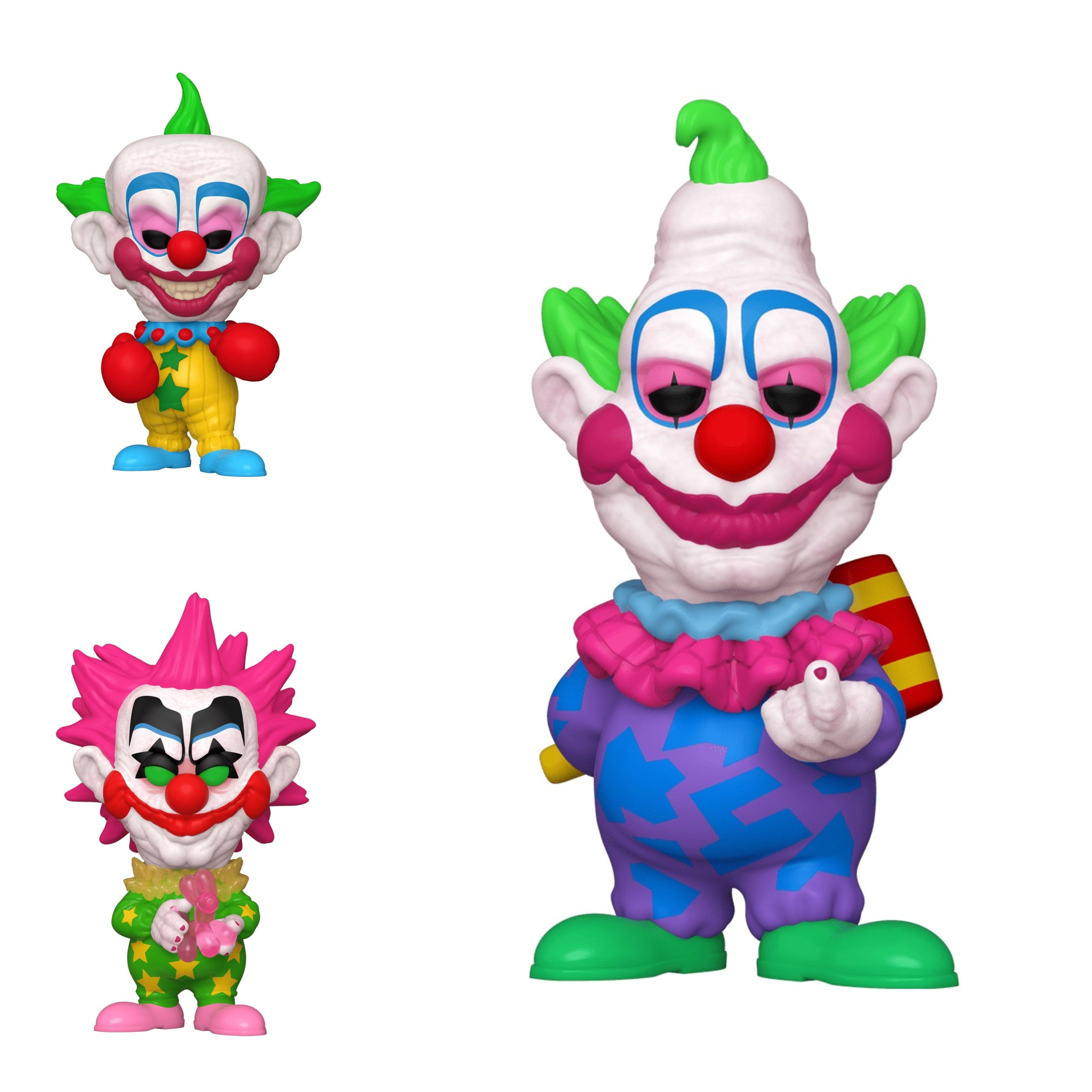 Killer Klowns from Outer Space Bundle (3 Figures)
