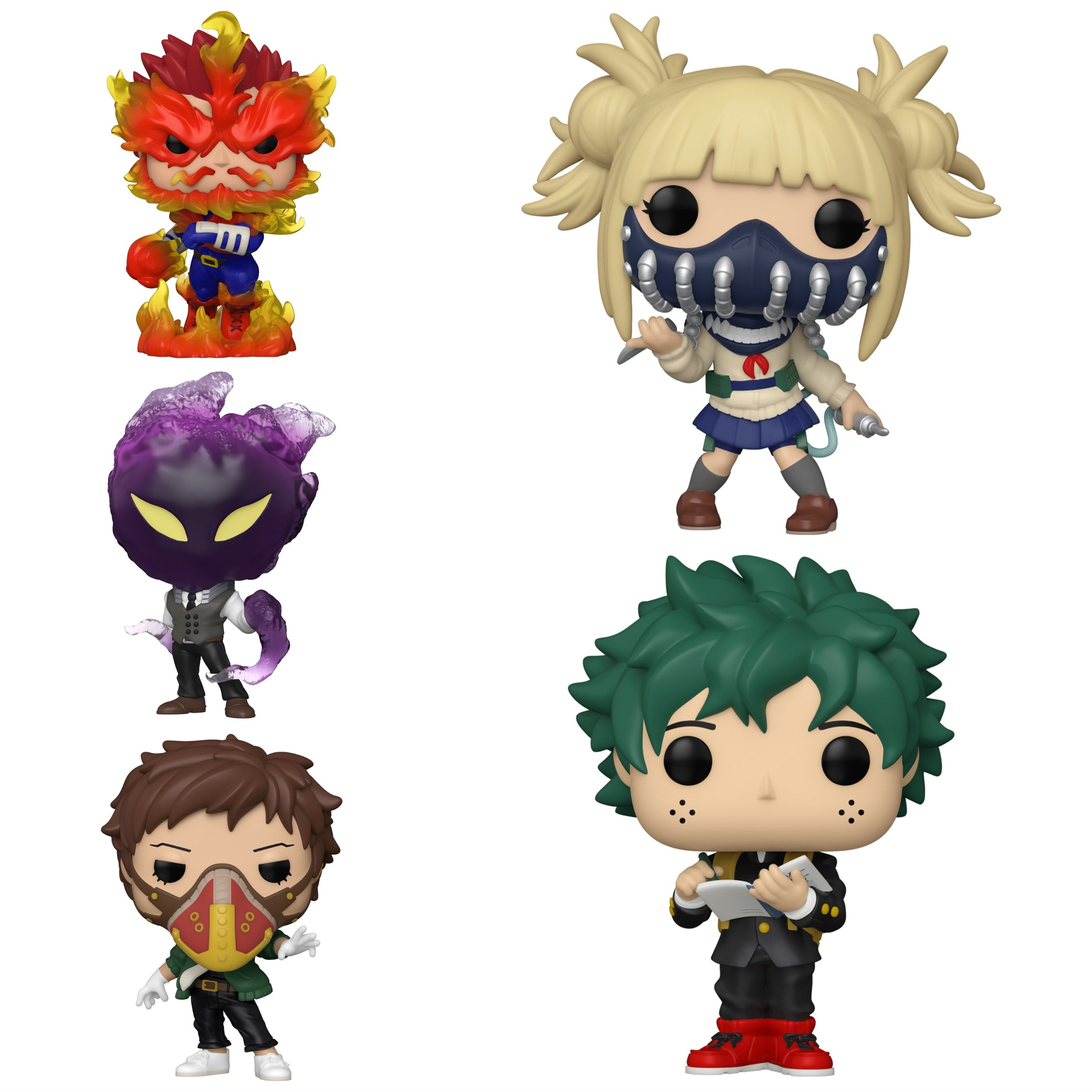 My Hero Academia Wave 4 Bundle [5 Figures] (Preorder)