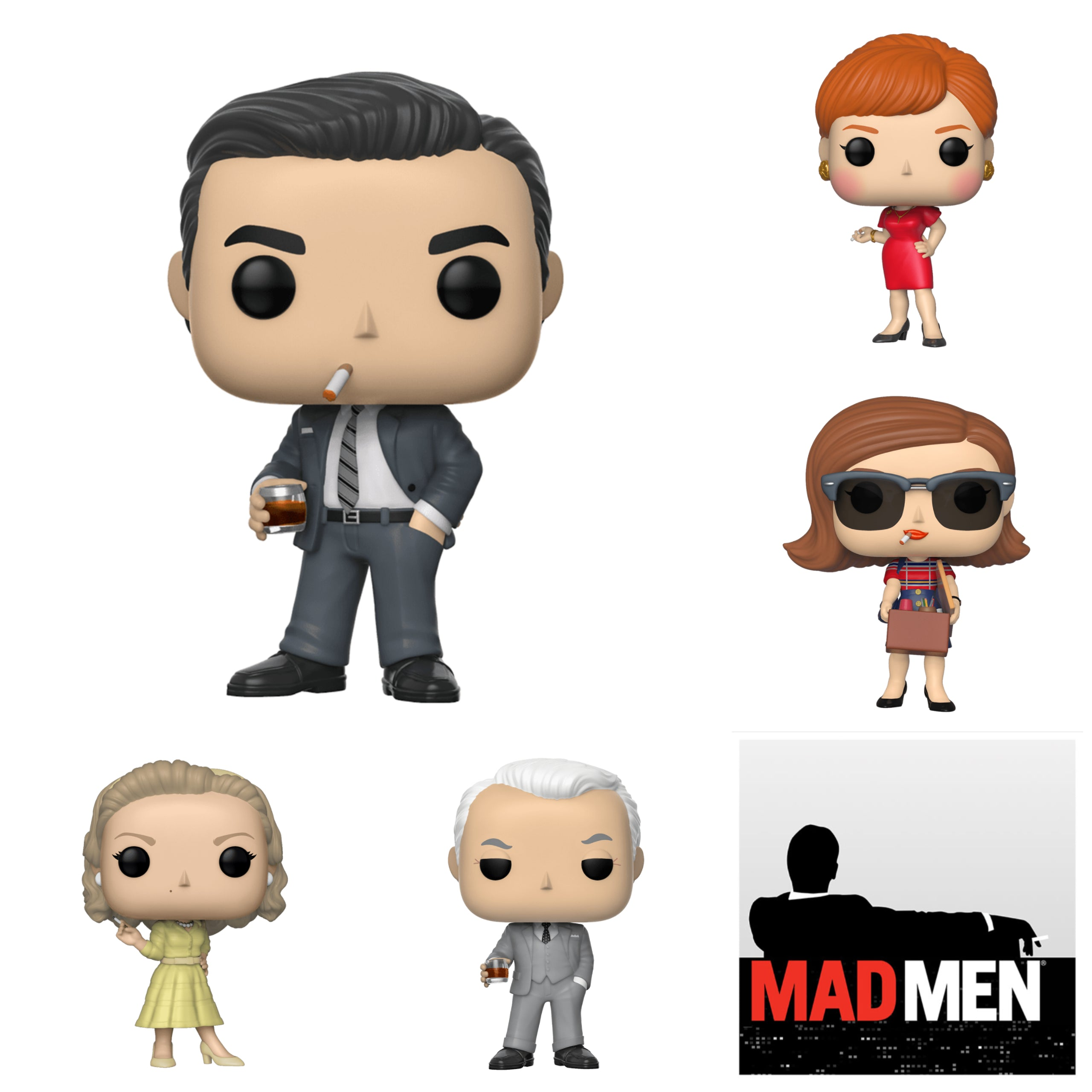 Mad Men Bundle (5 Figures)
