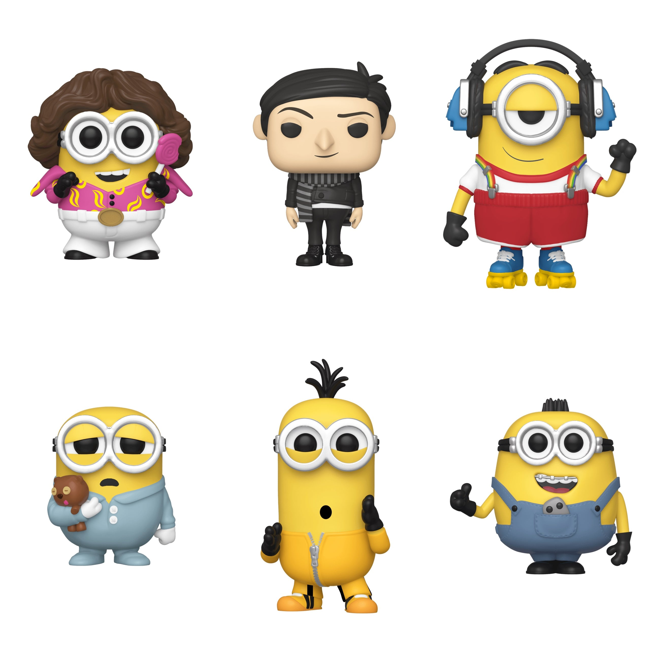 Minions The Rise of Gru Bundle (6 Figures)