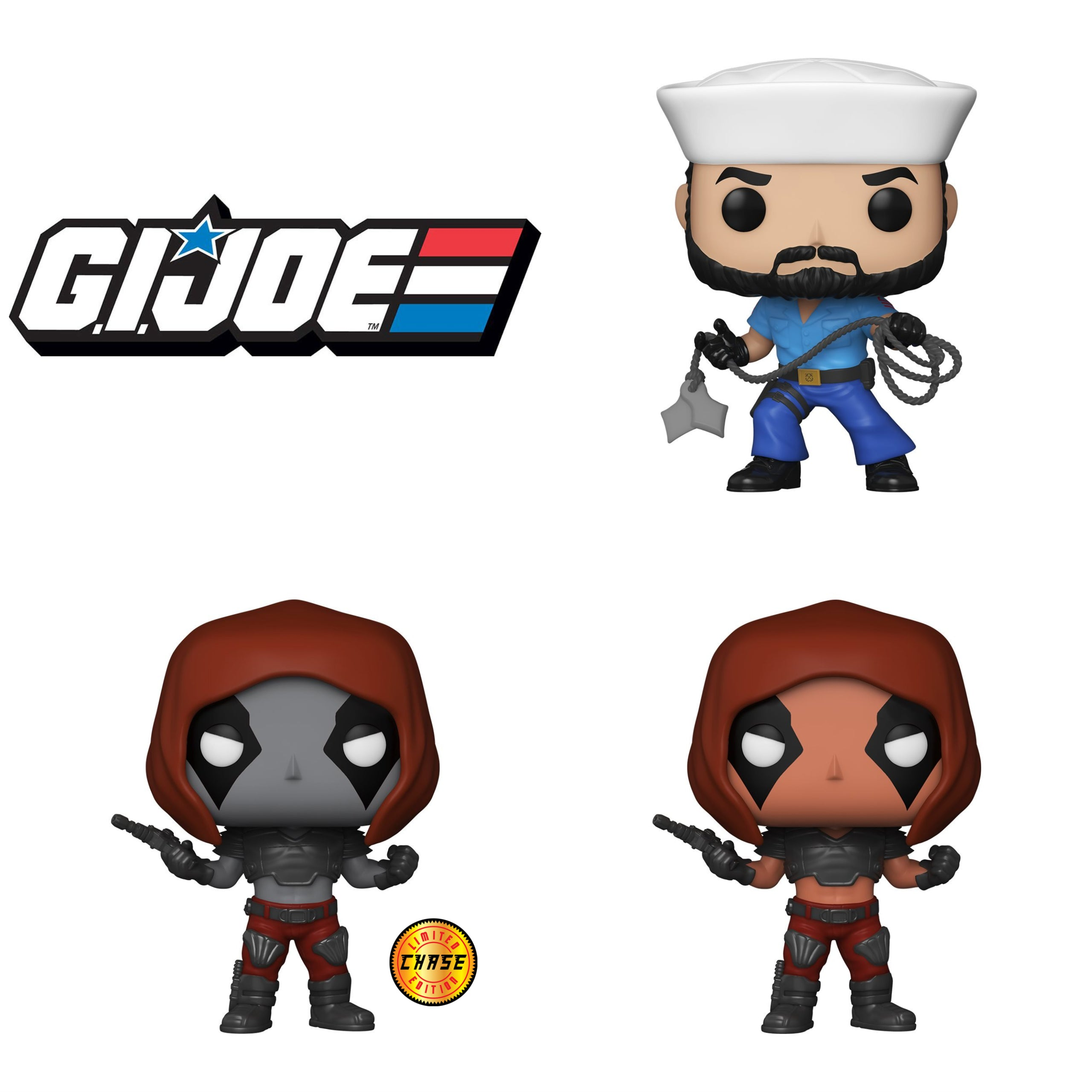 GI Joe Chase Bundle [3 Figures]