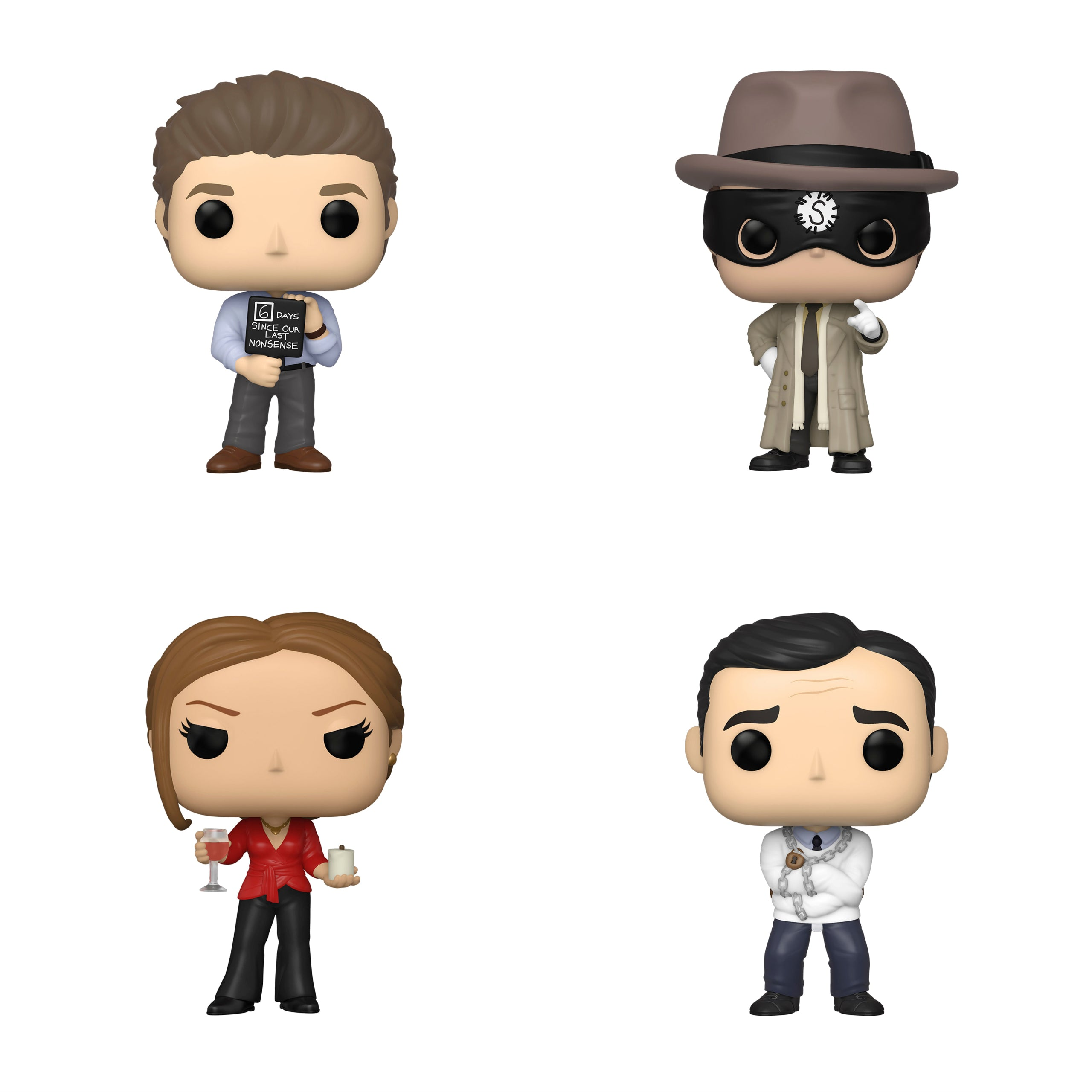 The Office Wave 3 Bundle [4 Figures] (Preorder)