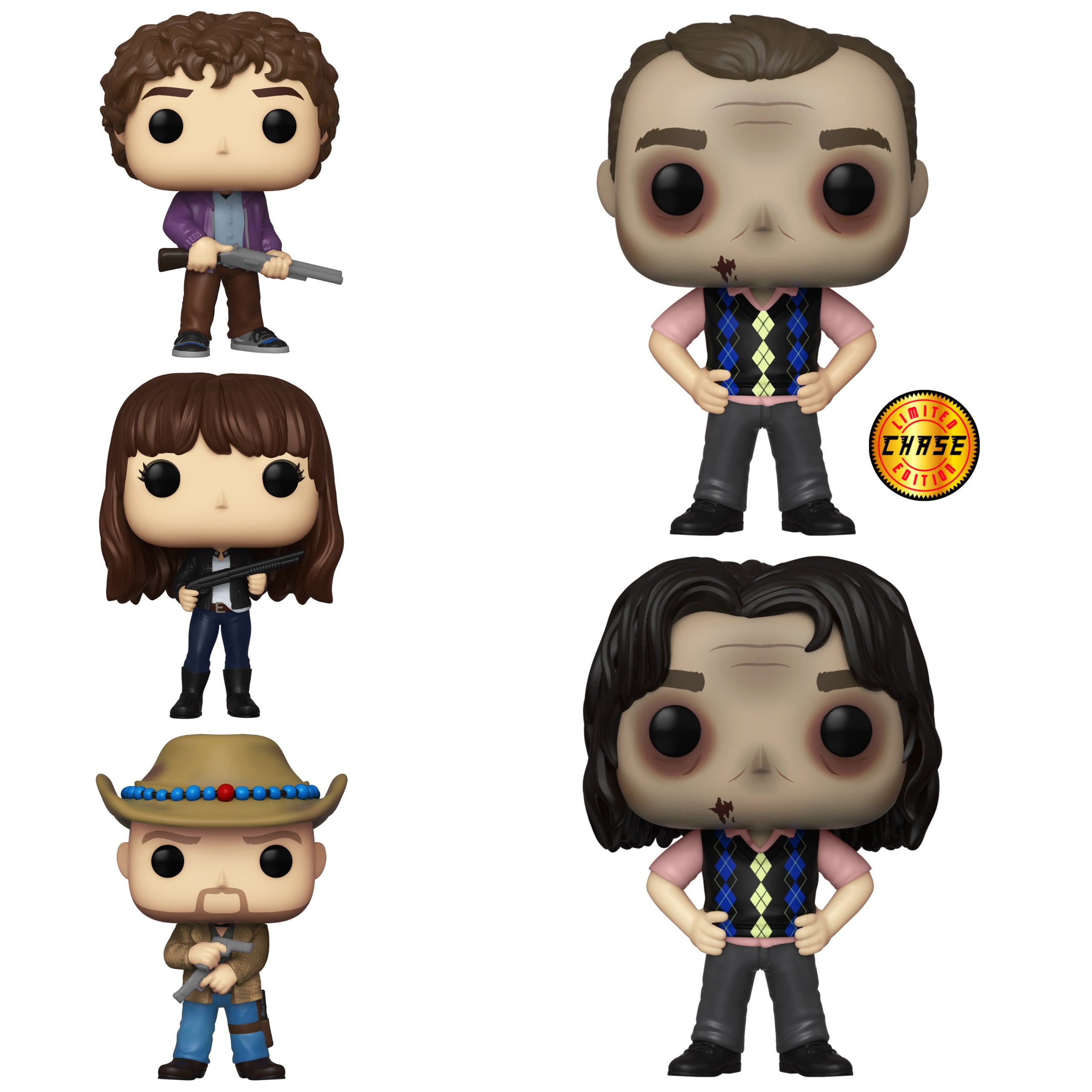 Zombieland Chase Bundle [5 Figures] (October Preorder)