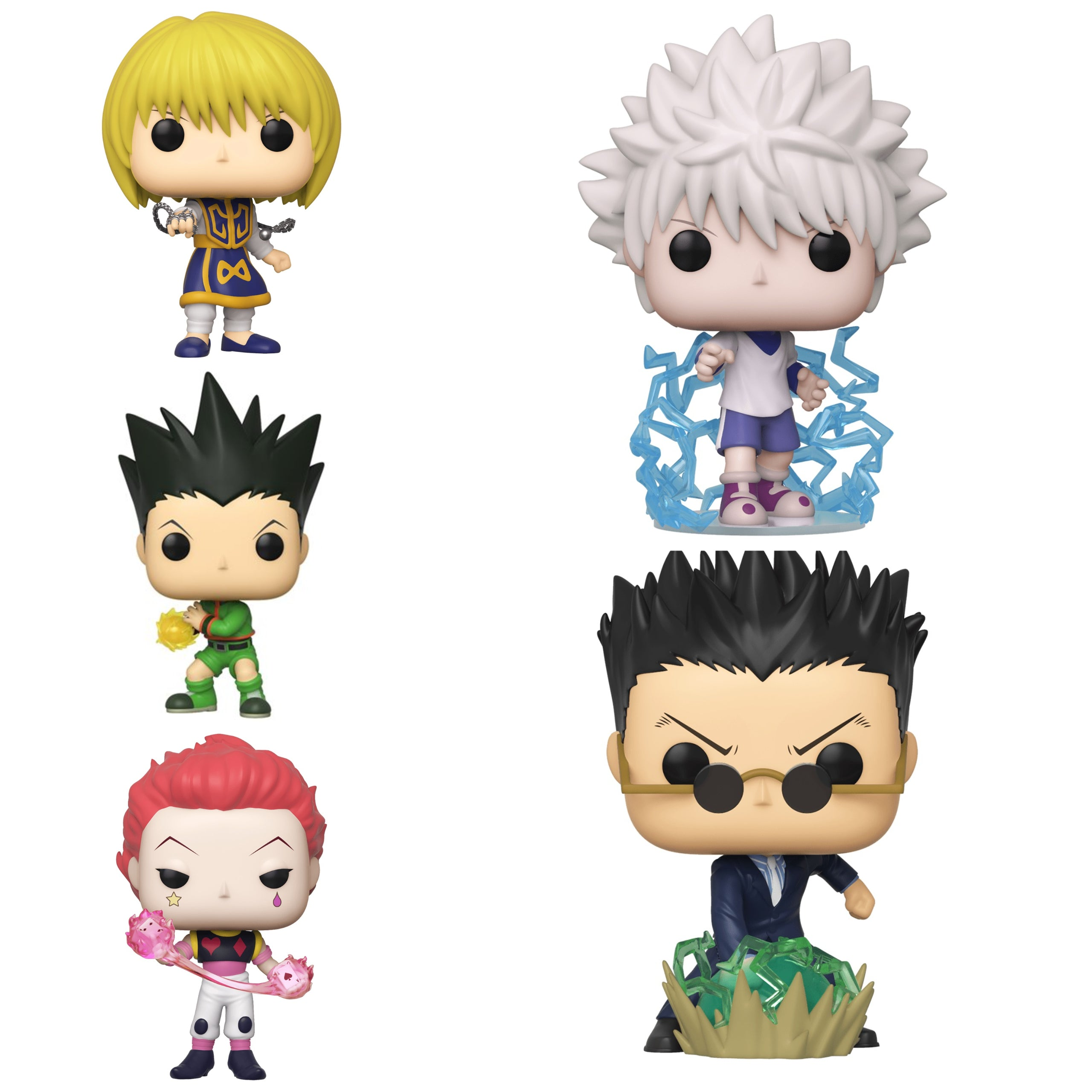Hunter x Hunter Bundle [5 Figures] (April Preorder)