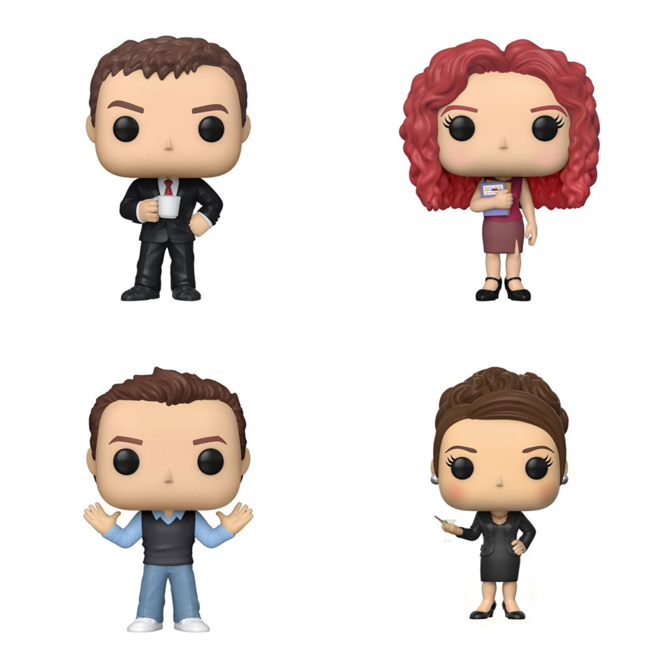 Will and Grace Bundle (4 Figures)