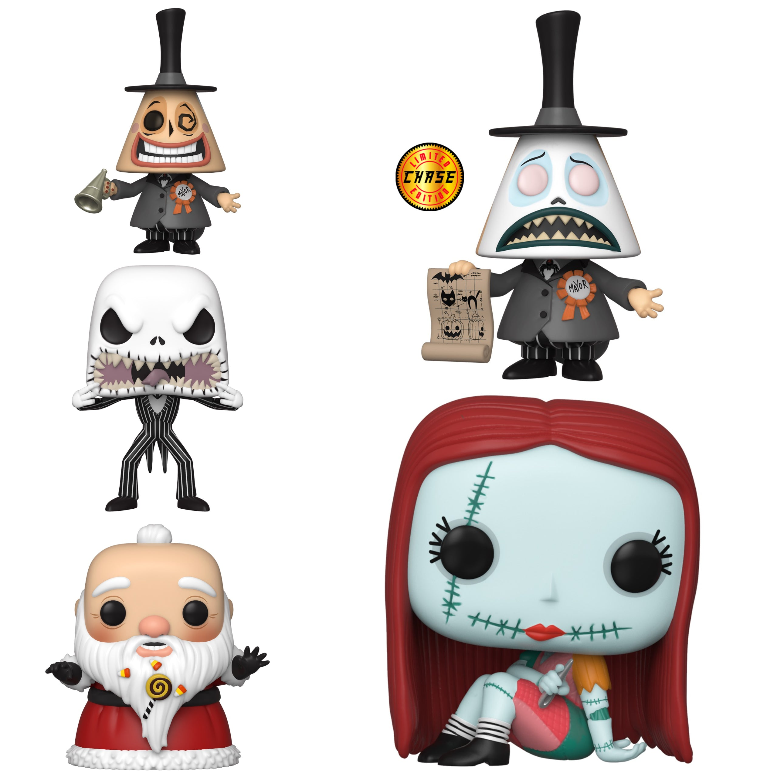 Nightmare Before Christmas Chase Bundle [5 Figures] (November Preorder)