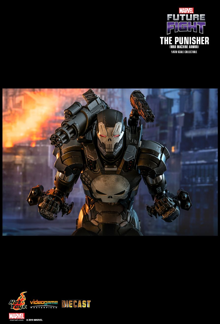 The Punisher War Machine Armor Sixth Scale Figure
