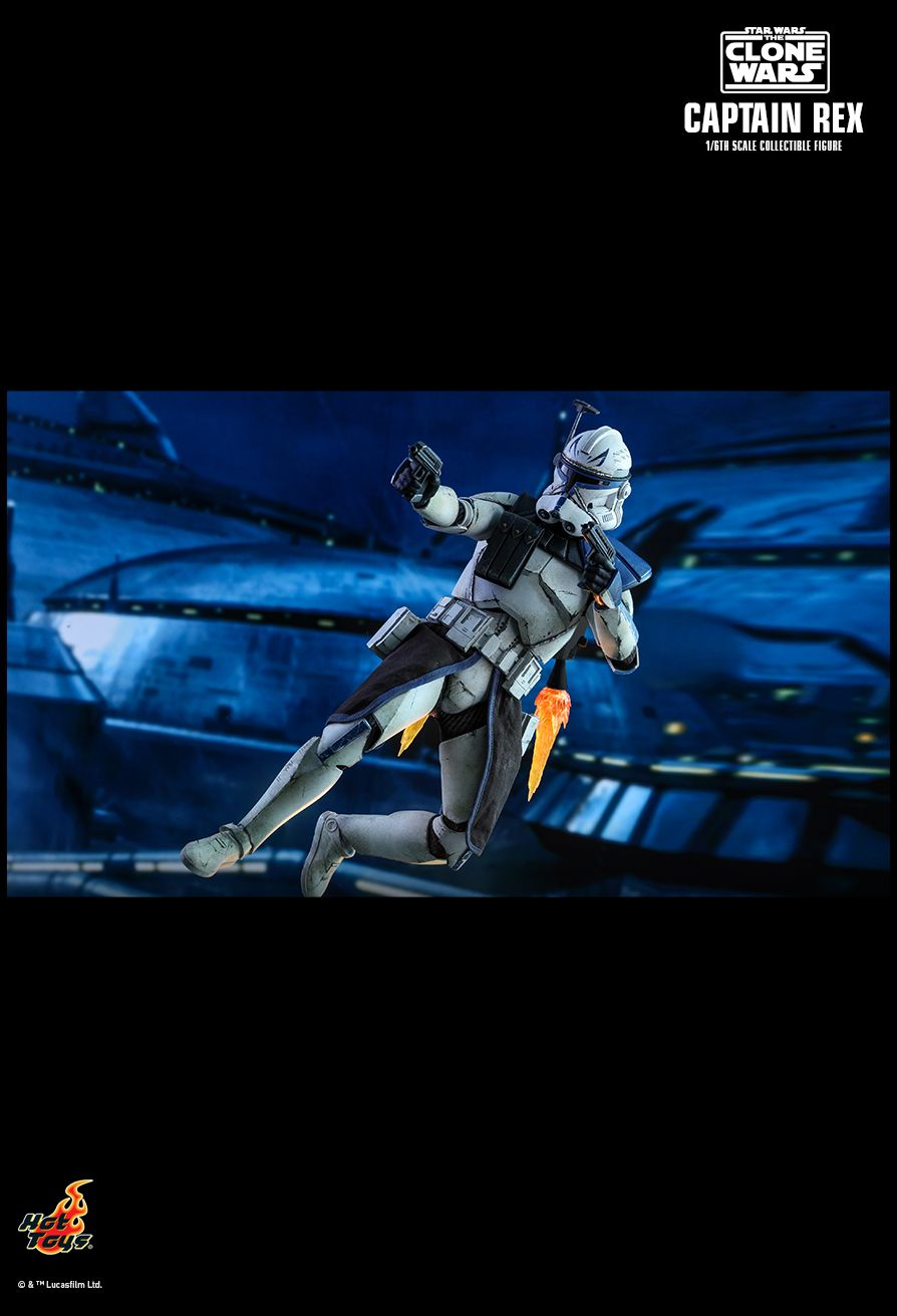 Star Wars Clone Wars Captain Rex Sixth Scale Figure (Preorder)