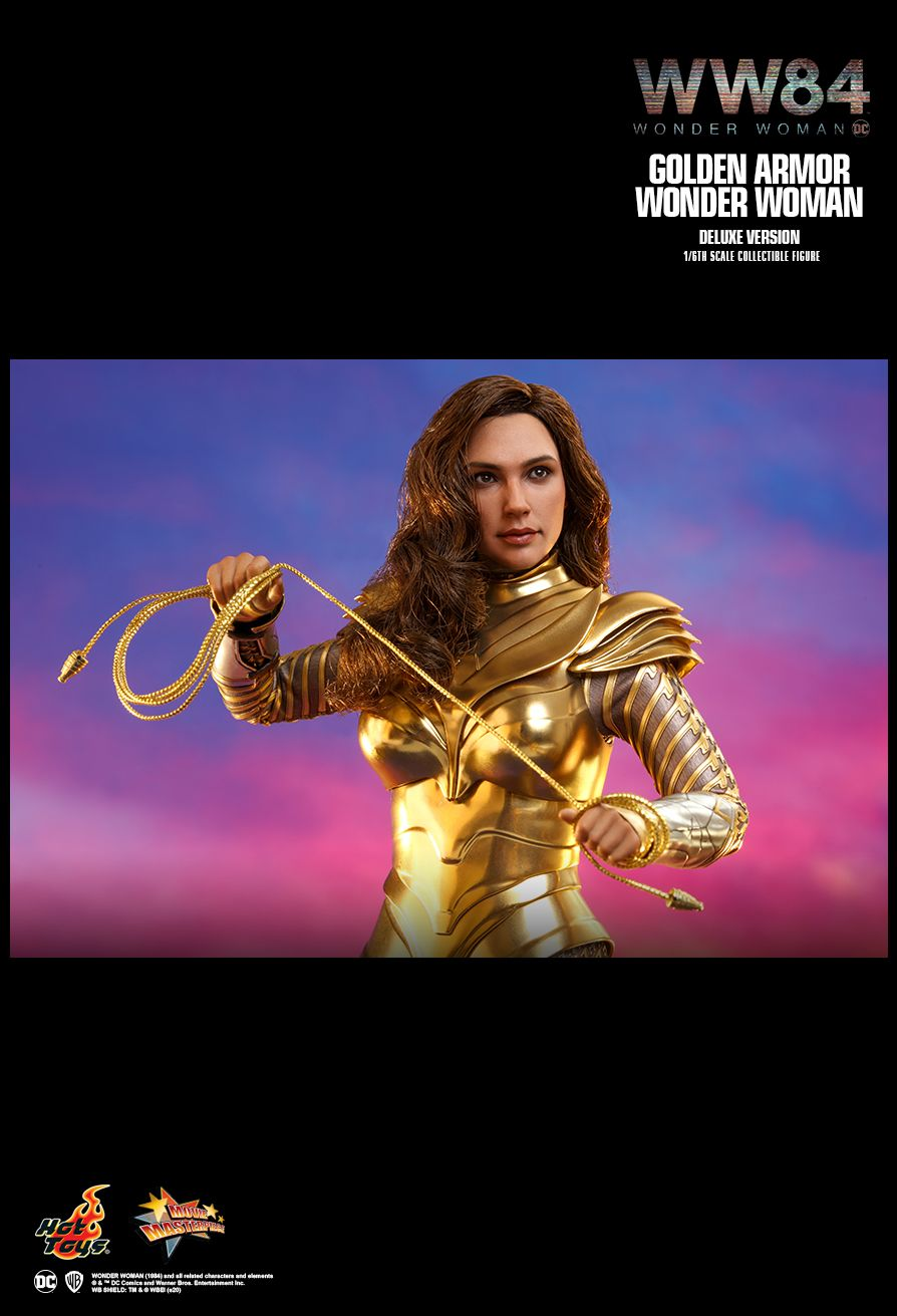 Golden Armor Wonder Woman Deluxe Sixth Scale Figure (Preorder)
