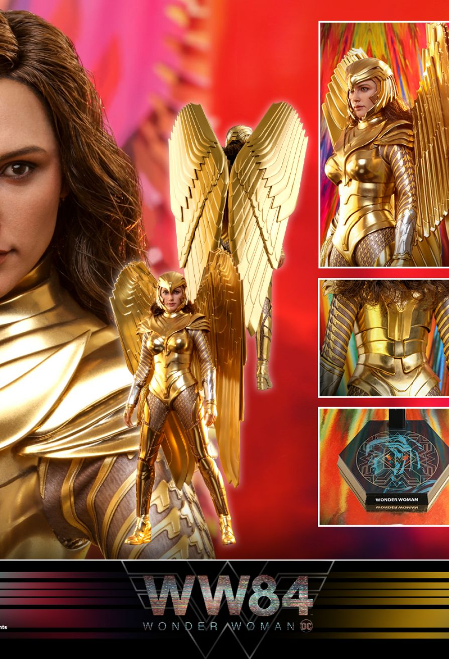 Golden Armor Wonder Woman Sixth Scale Figure (Preorder)