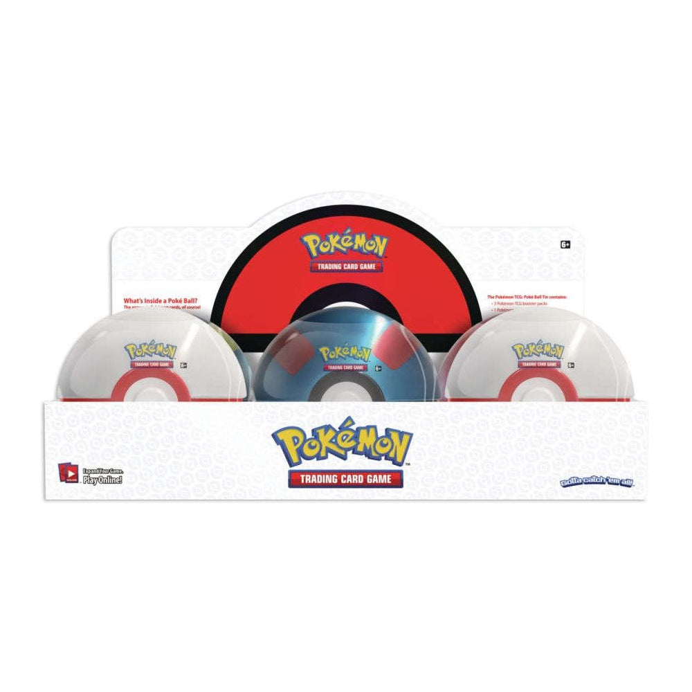 Pokemon TCG Poke Ball Wave 3 Collector Tin