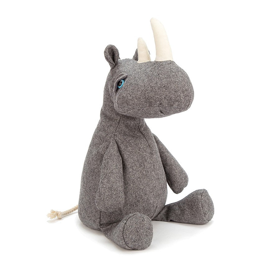 Pobblewob Rhino Stuffed Animal