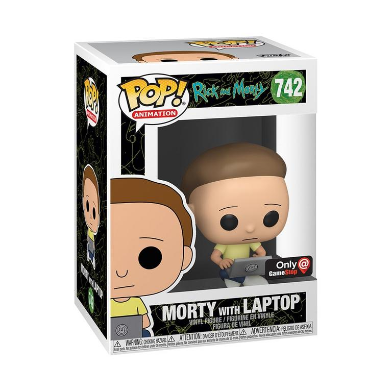 Rick and Morty Morty with Laptop Exclusive