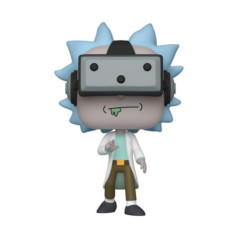 Rick and Morty Gamer Rick Exclusive
