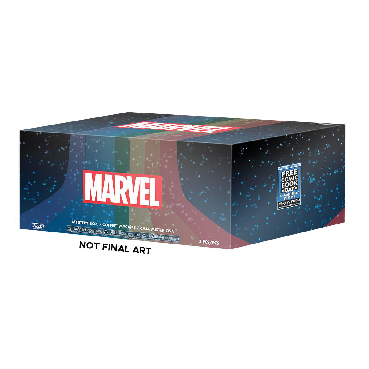 Free Comic Book Day 2020 Exclusive Marvel Mystery Box