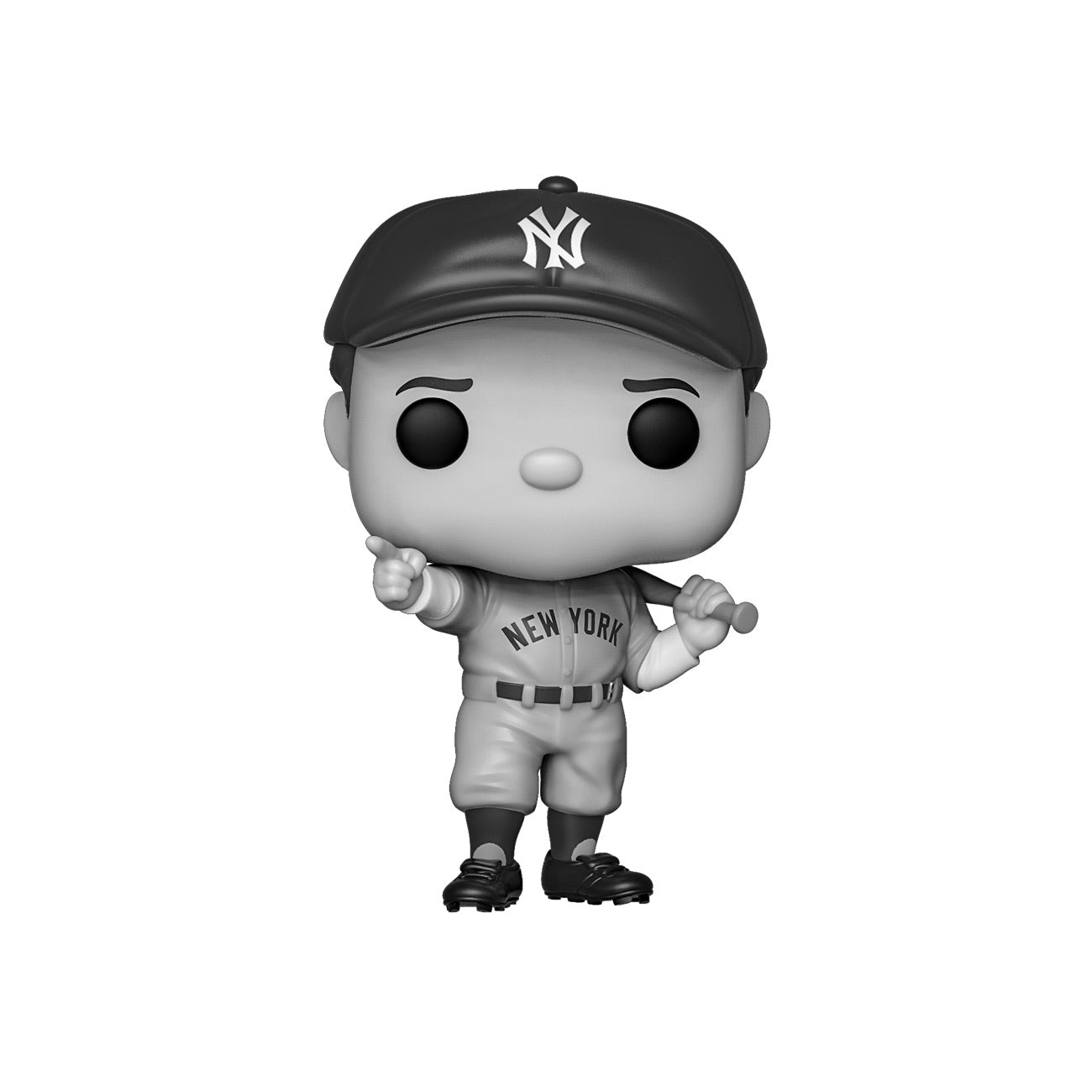 Babe Ruth Black and White Exclusive (Not Mint)
