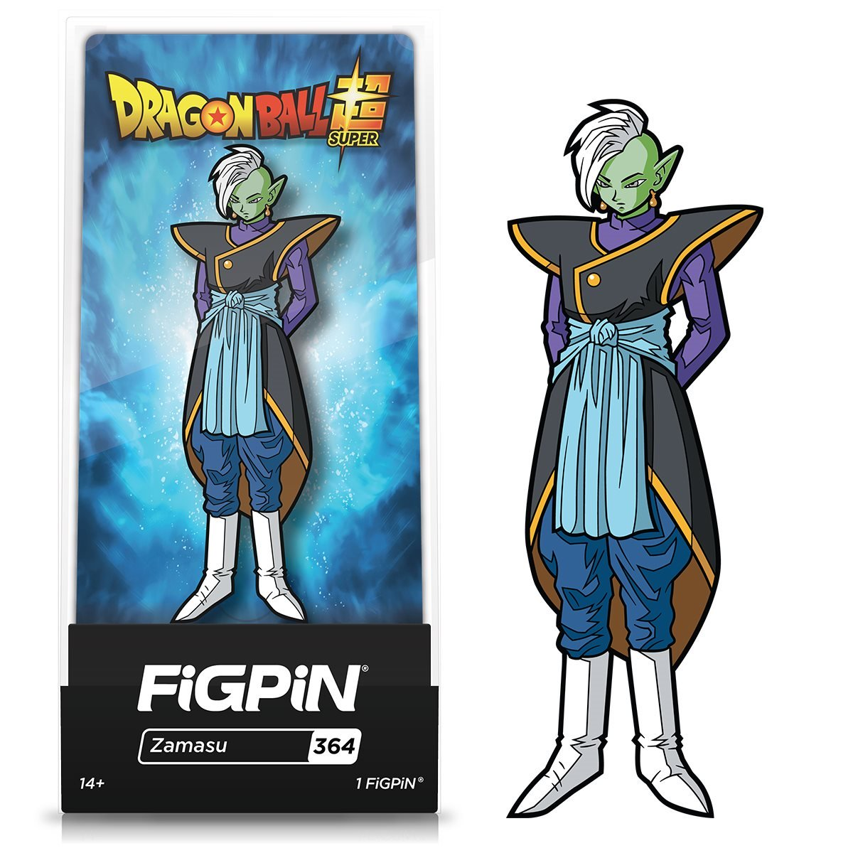 FiGPiN Dragon Ball Super Zamasu Enamel Pin Exclusive