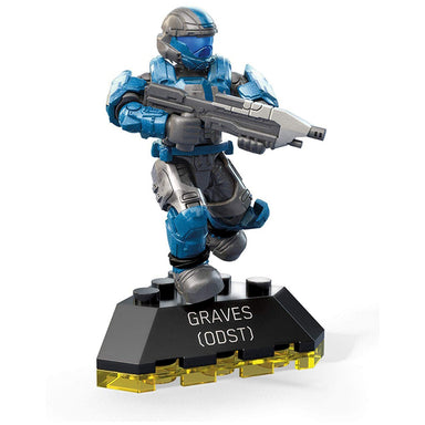 Halo Mega Construx Heroes Series 9 Odst Graves Mini Figure