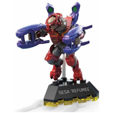 Halo Mega Construx Heroes Series 9 Sesa Refumee Mini Figure