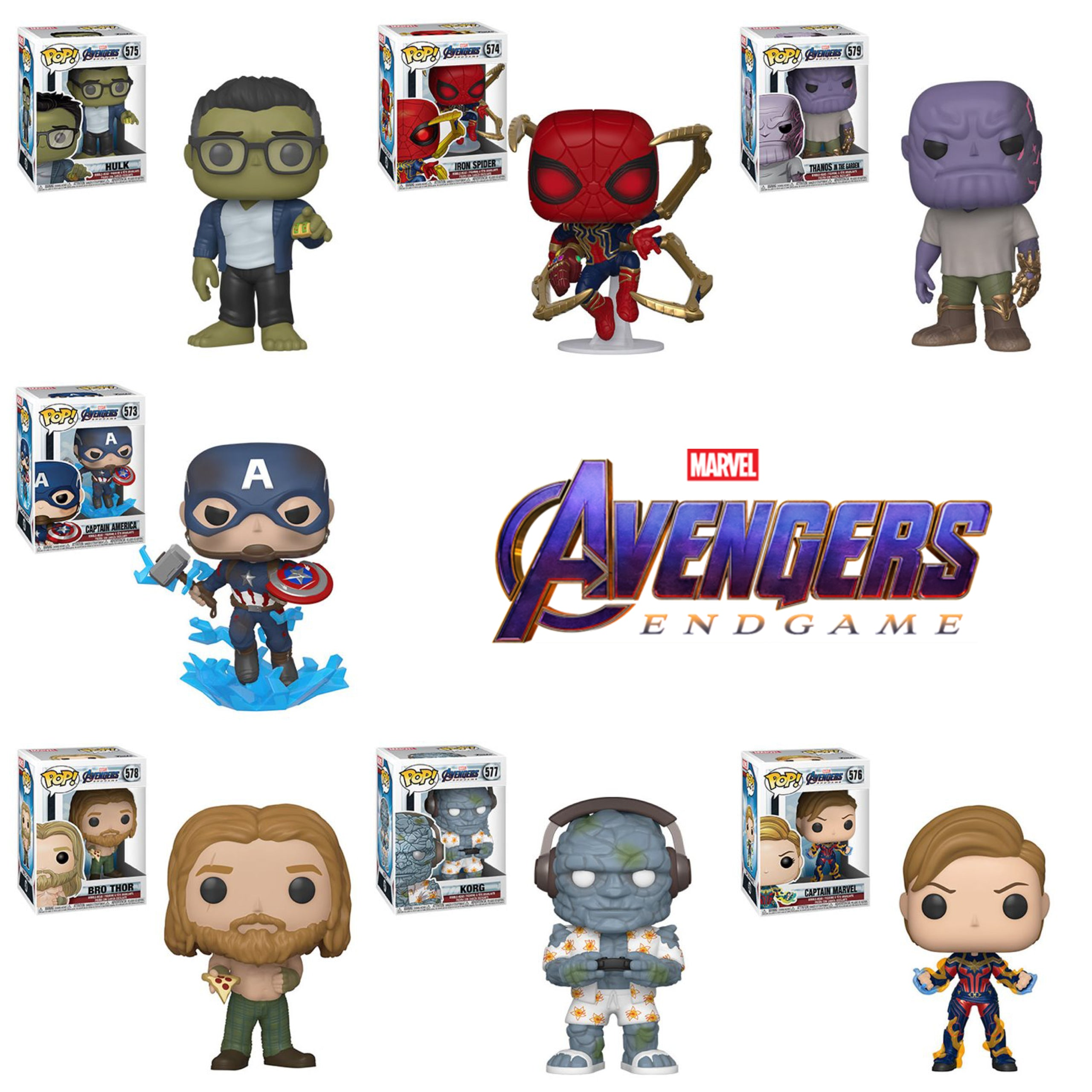Avengers Endgame Wave 2 Bundle (7 Figures)