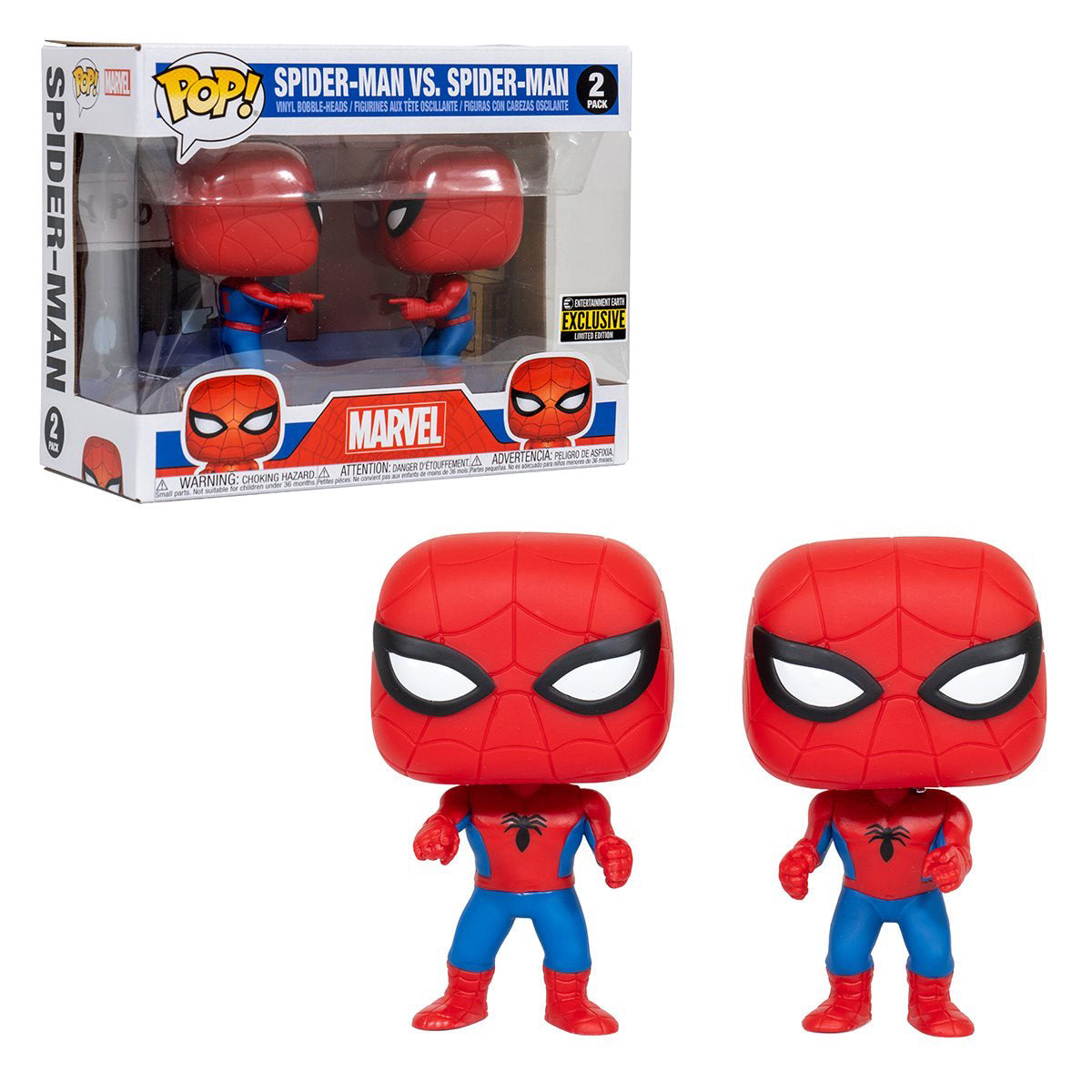 Marvel Spider-Man vs Spider-Man Imposter 2-Pack Exclusive