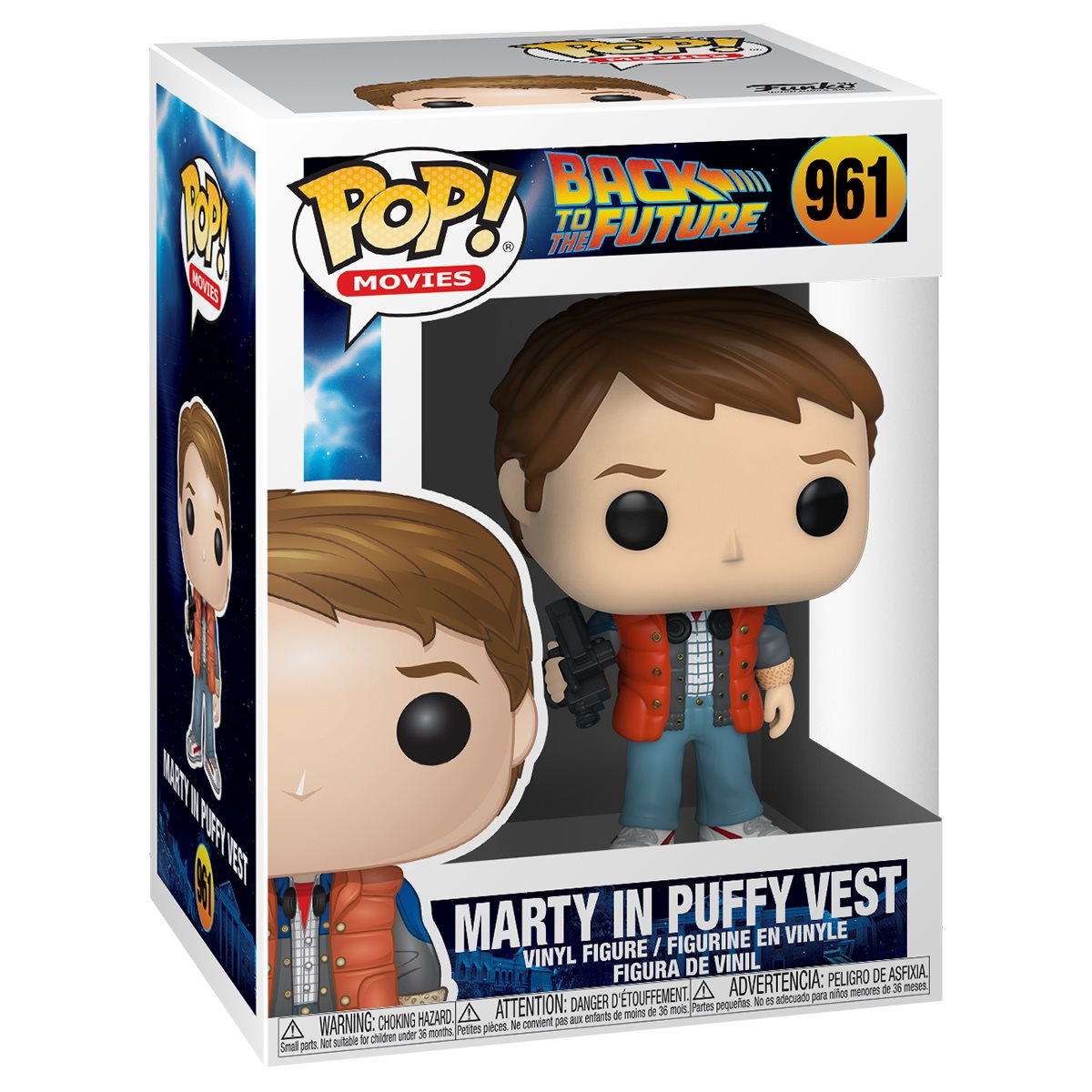 Back to the Future Marty in Puffy Vest (Preorder)