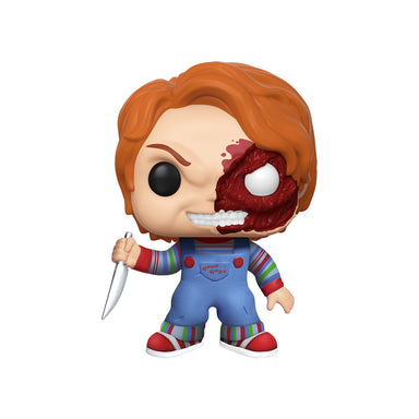 Childs Play 3 Chucky Half Face Exclusive