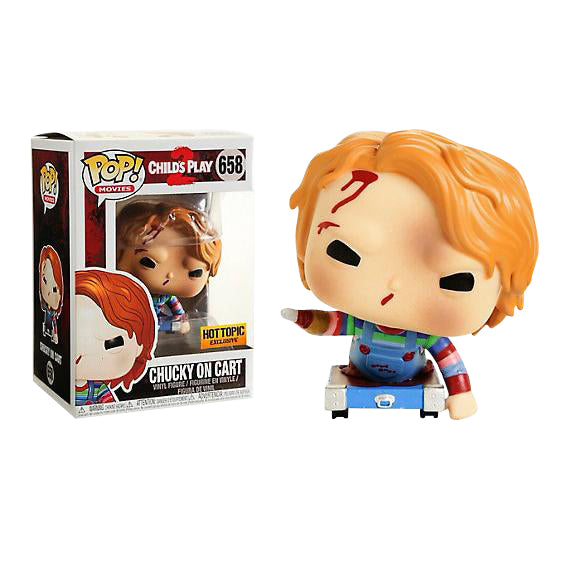 Childs Play 2 Chucky on Cart Exclusive