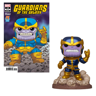 Guardians of the Galaxy Marvel Heroes Thanos Snap 6-Inch Previews Exclusive with Variant Comic (January Preorder)