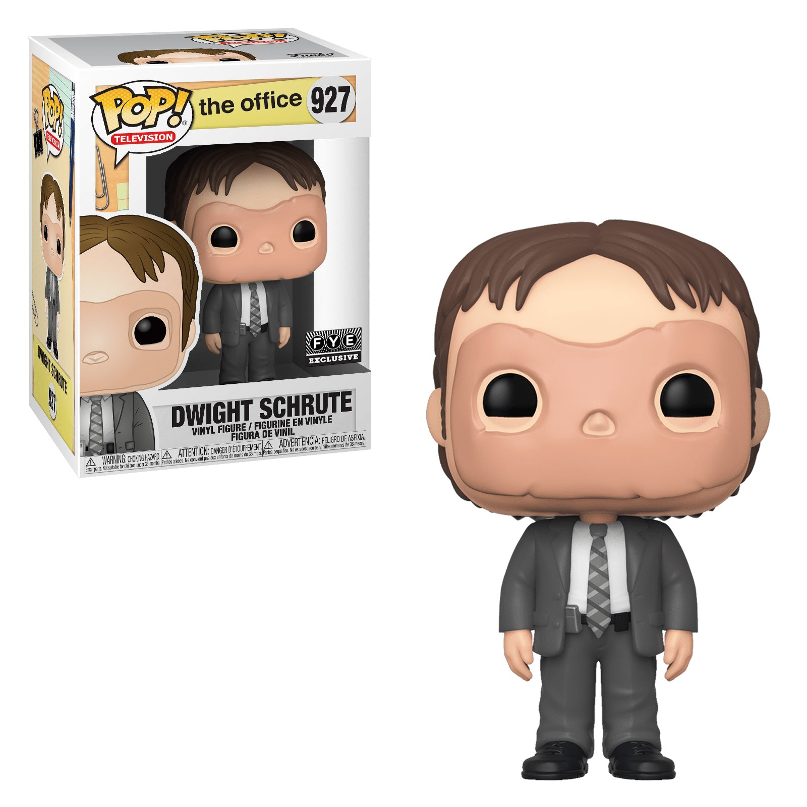 The Office Dwight Schrute with Mask Exclusive (FYE Sticker)