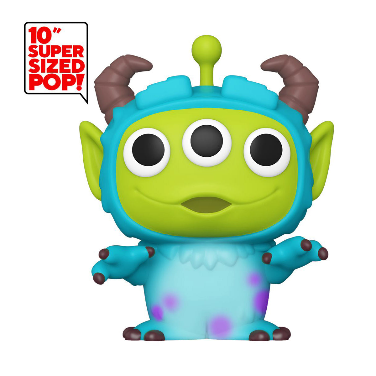 Pixar 25th Anniversary Alien as Sulley 10-Inch