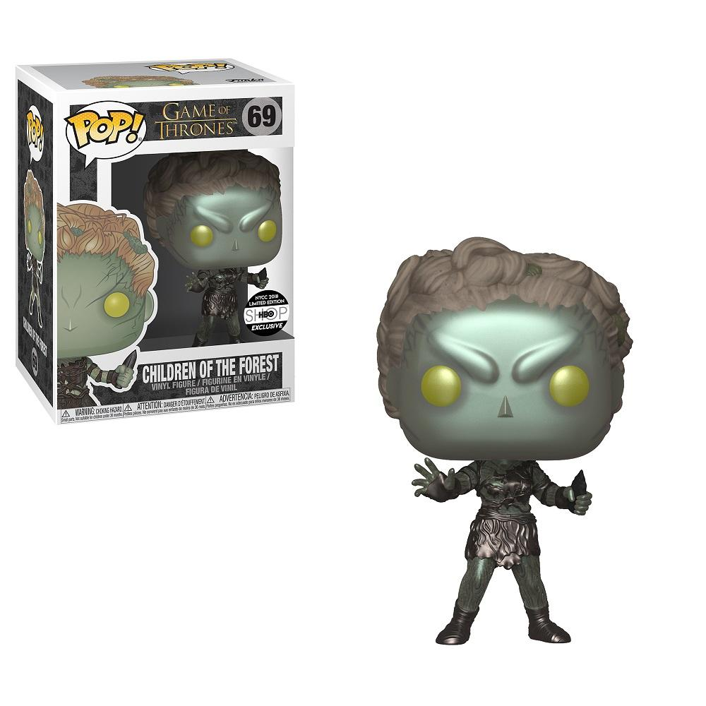 Game of Thrones Metallic Children of the Forest Convention Exclusive (Damaged Box)