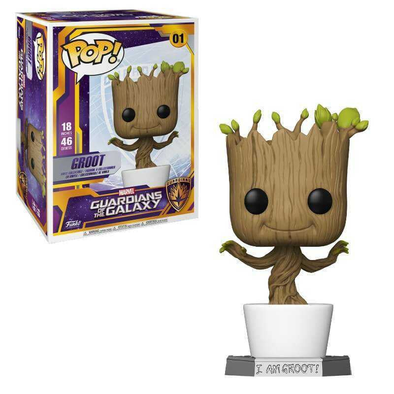 Guardians of the Galaxy Dancing Groot 18-Inch (September Preorder)