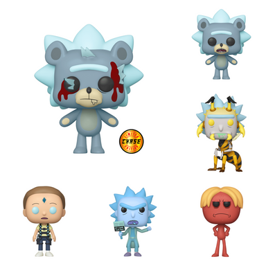 Rick and Morty Wave 7 Chase Bundle [6 Figures] (December Preorder)