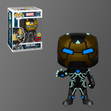 Marvel Iron Man Glow in the Dark Mark 39 AAA Anime Exclusive (December Preorder)