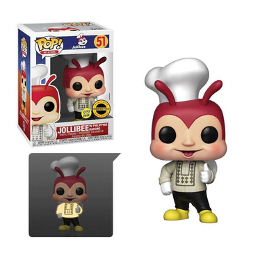Jollibee in Philippine Barong Glow in the Dark Exclusive (Damaged Box)