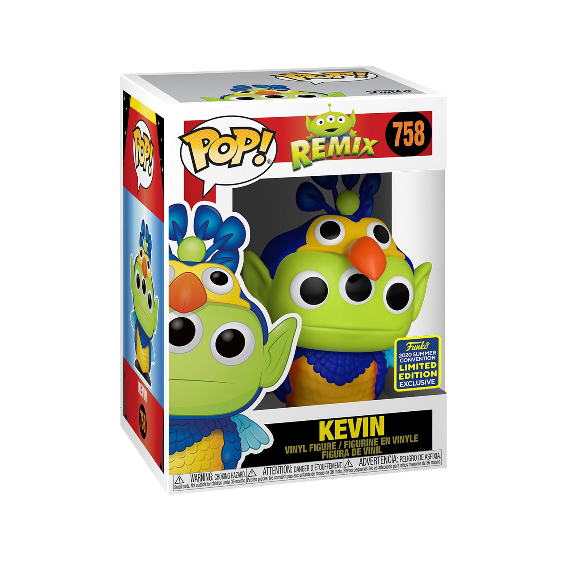 Pixar 25th Anniversary Alien Remix Kevin Summer Convention Exclusive